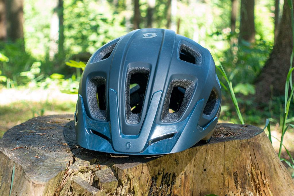 Scott Vivo Plus – fronten af hjelmen