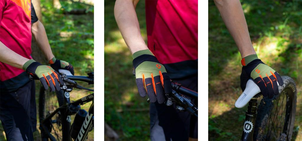 handsker i brug
