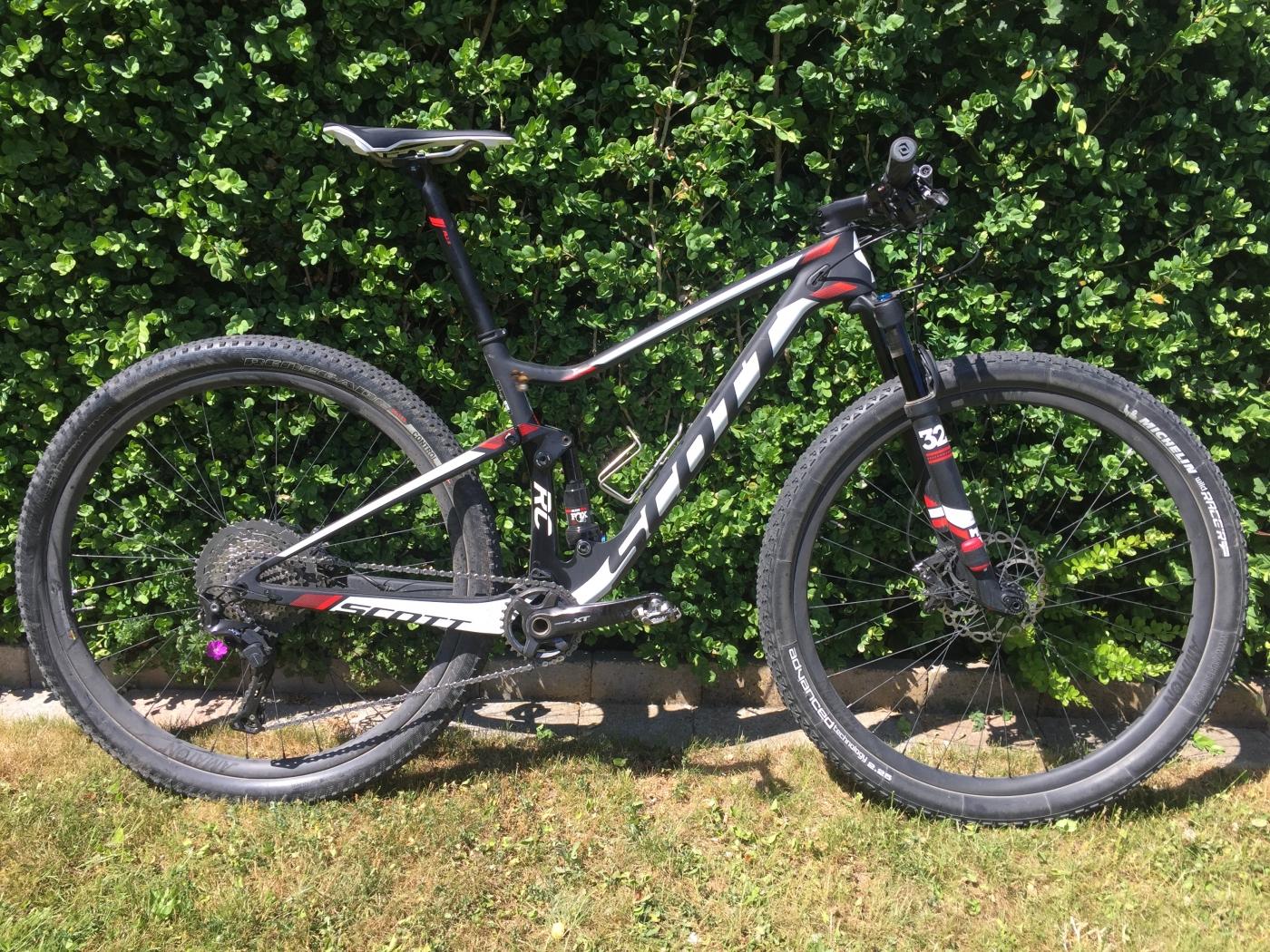 Helt nya Minitest af Scott Spark RC900 – en meget alvorlig cykel – Bikings HX-59